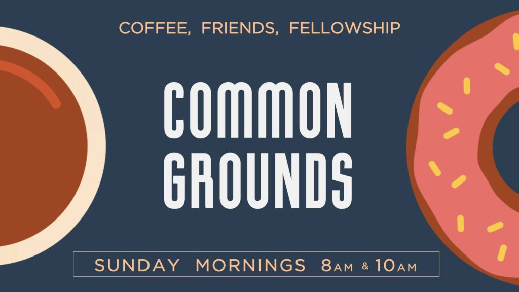 Coffee, Donuts, Fellowship, Community