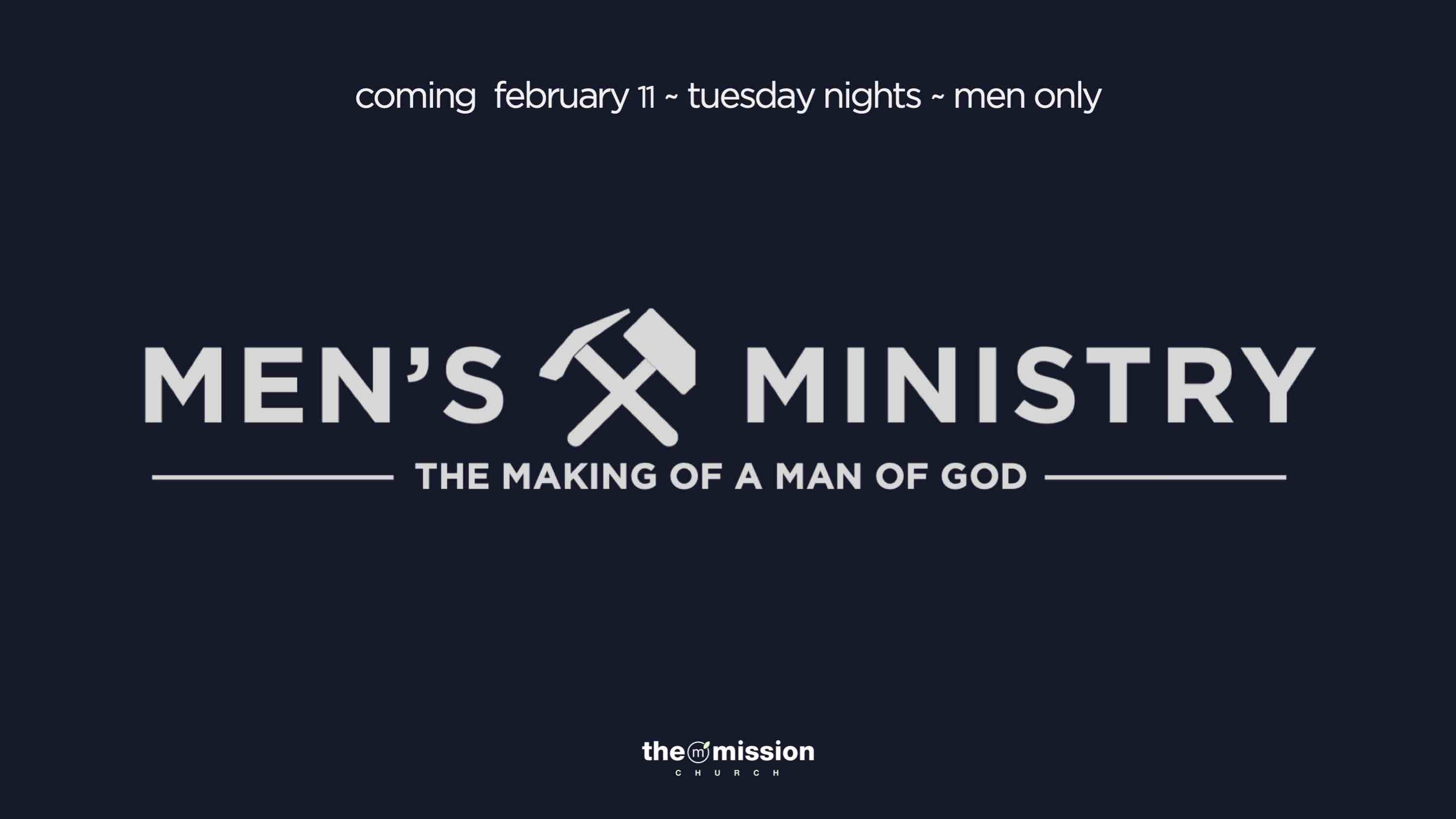 Men's Ministry in Carlsbad