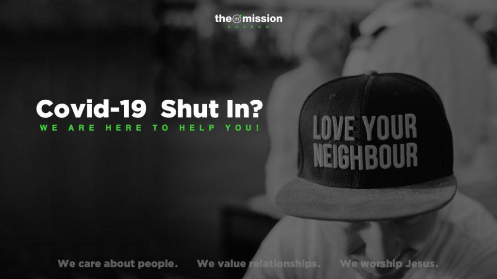 Mission Response Team, COVID-19, Coronavirus help, The Mission Church Carlsbad, Quarantined, Shut-in, support